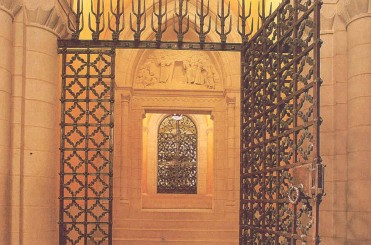 Entrance to Columbarium