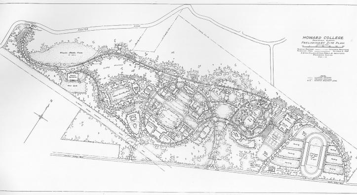 1947 site plan.
