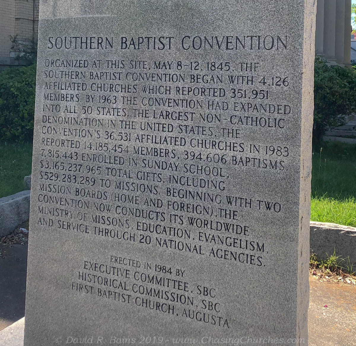 Numbers – An Expression of Baptist Power – Chasing Churches